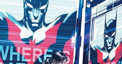 Batman Beyond #39 cover by Dustin Nguyen