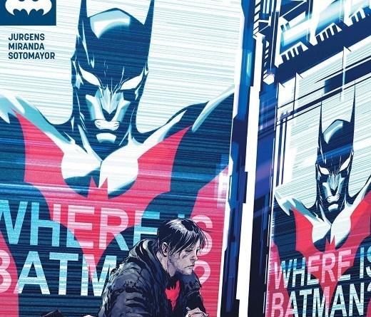 Batman Beyond #39 cover by Dustin Nguyen