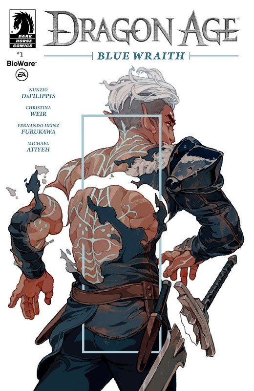Dragon Age: Blue Wraith #1 cover by Sachin Teng