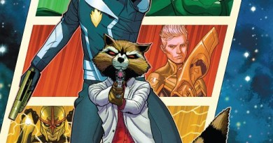 Guardians of the Galaxy #1 cover by Juann Cabal and Dean White