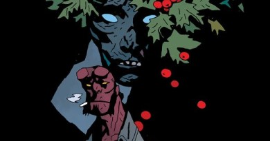 Hellboy Winter Special 2019 cover by Mike Mignola and Dave Stewart