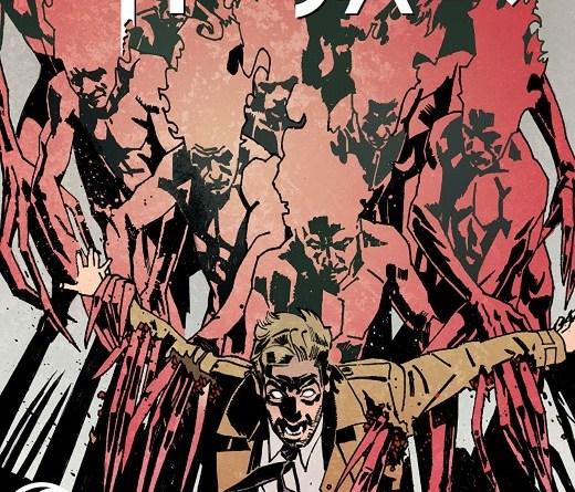 John Constantine: Hellblazer #3 cover by John Paul Leon