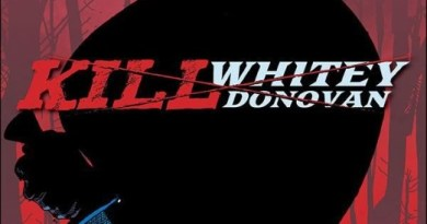Kill Whitey Donovan #2 cover by Jason Pearson