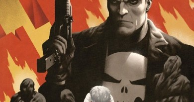 Punisher: Soviet #3 cover by Paolo Rivera