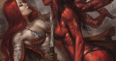 Red Sonja: Age of Chaos #1 cover by Lucio Parillo