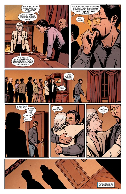 Daredevil #19 art by Jorge Fornés, Nolan Woodard, and letterer VC's Clayton Cowles