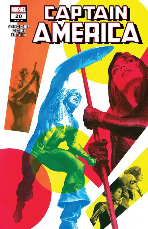 Captain America #20 cover by Alex Ross