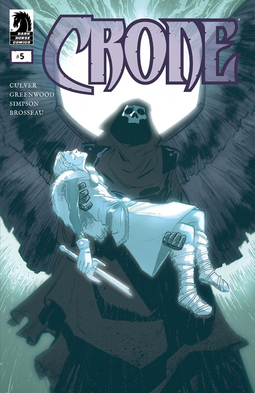 Crone #5 cover by Justin Greenwood and Brad Simpson