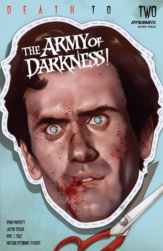 Death to the Army of Darkness #2 cover by Ben Oliver