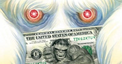 Immortal Hulk #32 cover by Alex Ross