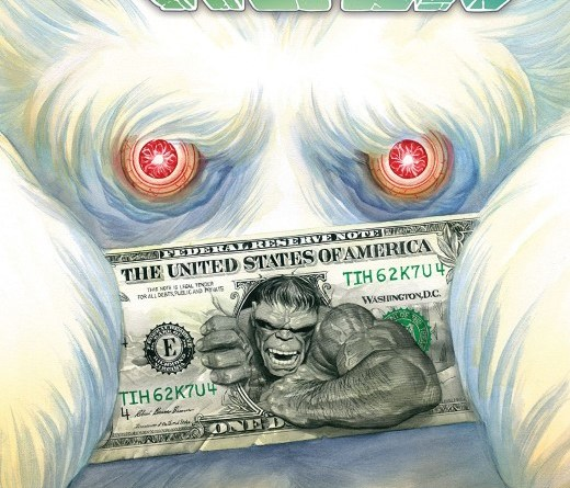 Immortal Hulk #32 cover by Alex Ross