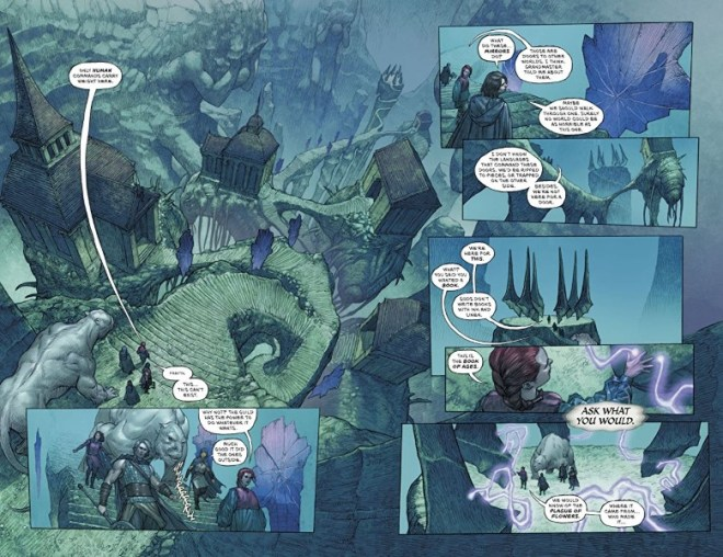 Review: What Lies Beneath The Pinnacle Revealed In 'Last God #5' – COMICON