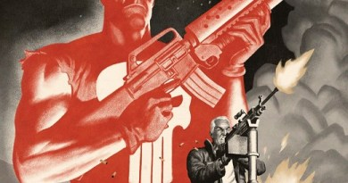 Punisher: Soviet #5 cover by Paolo Rivera