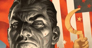 Punisher: Soviet #6 cover by Paolo Rivera