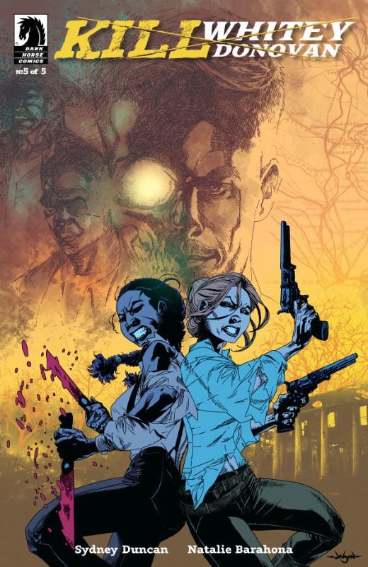 Kill Whitey Donovan #5 cover by Jason Pearson