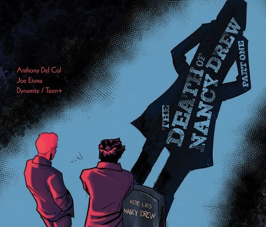 Nancy Drew and the Hardy Boys: The Death of Nancy Drew #1 cover by Joe Eisma