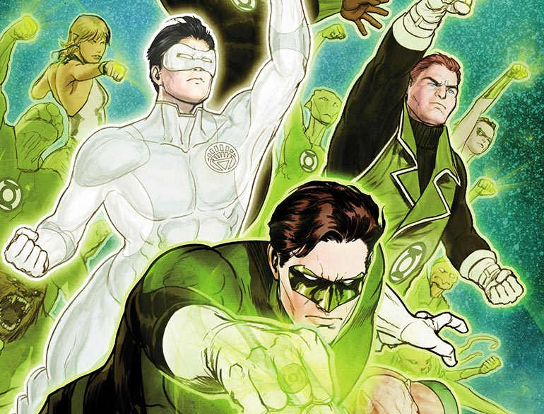 Exclusive Preview: HAL JORDAN AND THE GREEN LANTERN CORPS #13