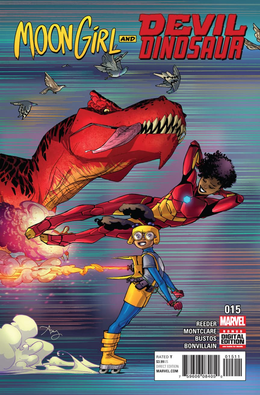Preview: MOON GIRL AND DEVIL DINOSAUR #15