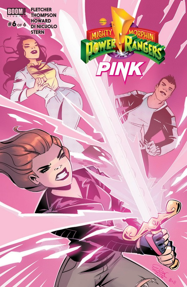 Preview: MIGHTY MORPHIN POWER RANGERS: PINK #6