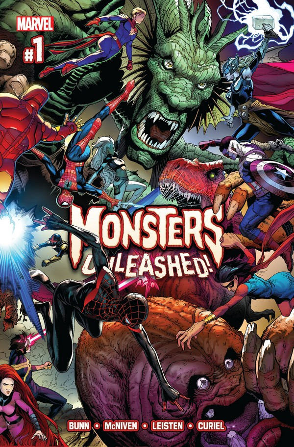 Review: MONSTERS UNLEASHED #1