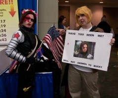 Winter Soldier and Steve Rogers