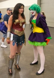 Wonder Woman and Female Joker