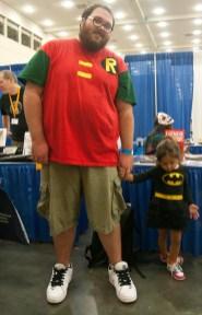 Big Robin and Little Batman
