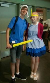Flynn and Princess Bubblegum