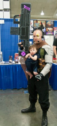 Cable and Baby Hope Summers