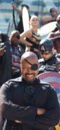 Laughing Nick Fury