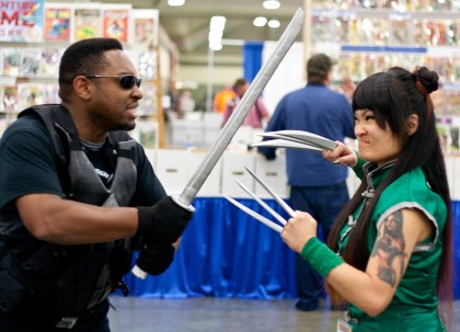 Blade vs Jade Claw