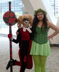 Young Poison Ivy and Harley Quinn