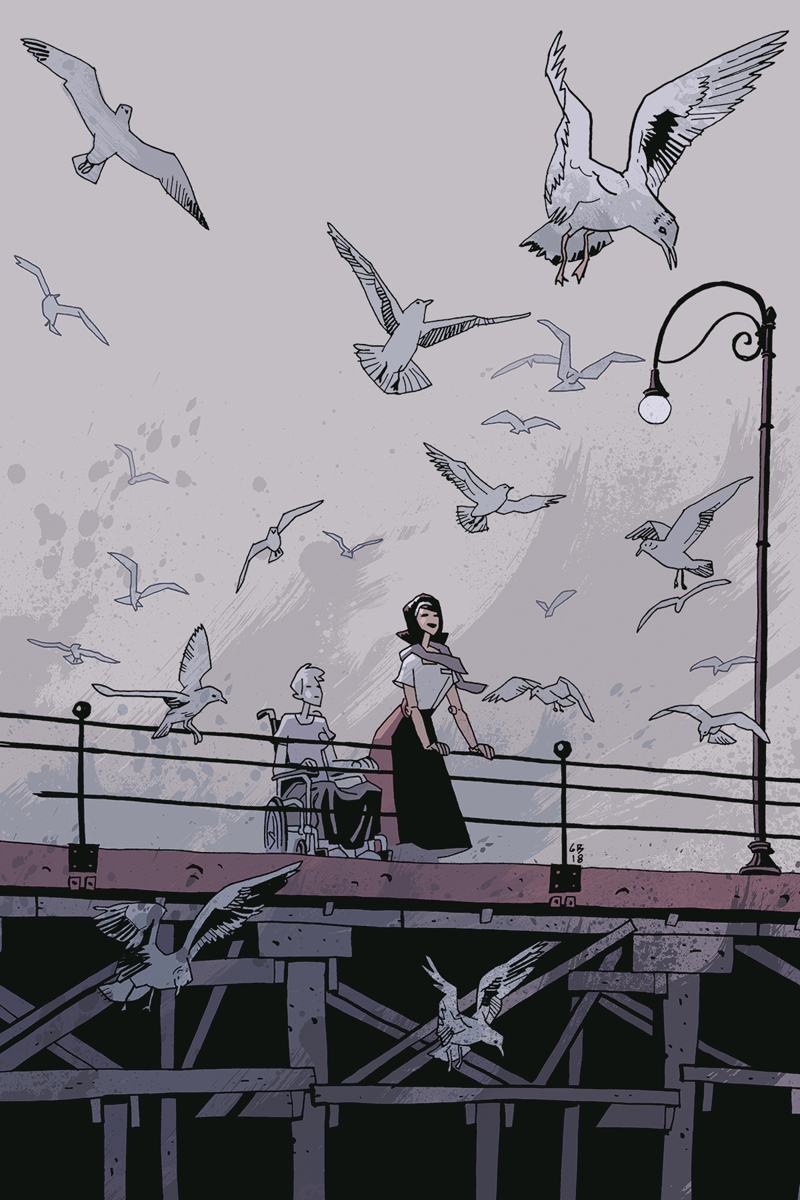 Umbrella Academy Hotel Oblivion #4 cover