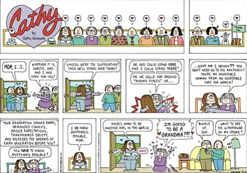 final cathy comic strip