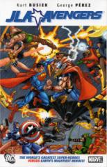 JLA Avengers trade cover