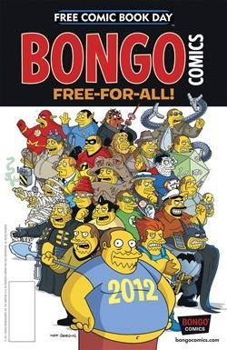 Bongo FCBD12_FreeForAll.jpg