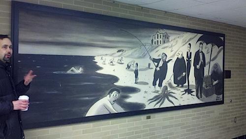 Charles Addams Mural Penn State University.jpg