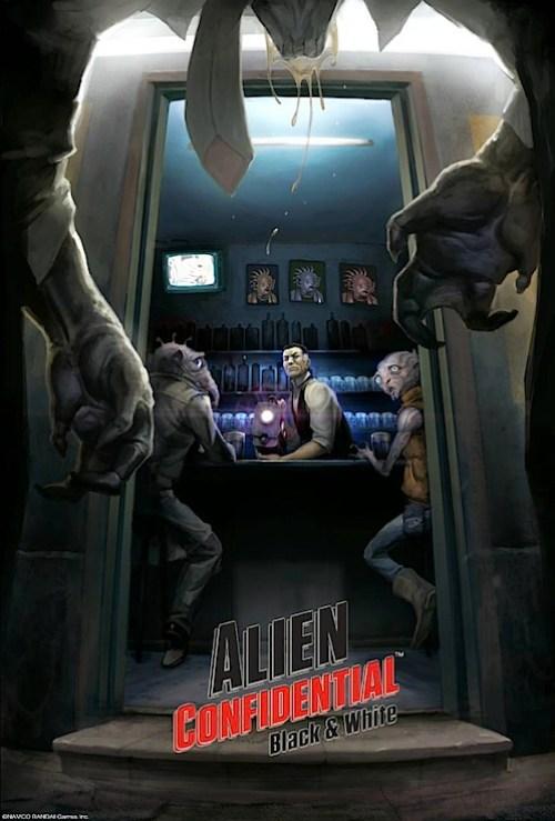 alien confidential namco bandai