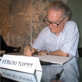 Sergio Toppi signing in Barcelona Comicon.jpg