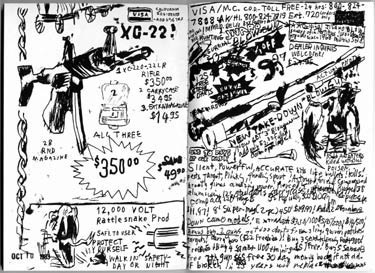 Gary Panter Sketchbook