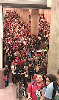 NYCC throngs