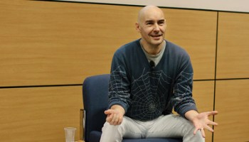 Grant Morrison, earlier this year