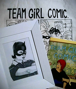 Team Girl Comic