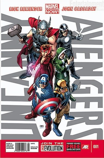 uncanny avengers marvel now