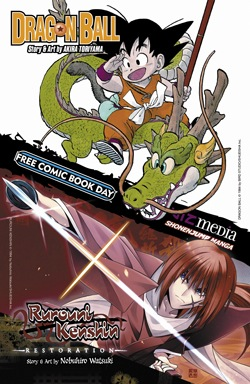 Viz Media FCBD13_Dragon Ball_Rurouni Kenshin.jpg