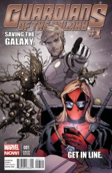 Issue #1 Deadpool variant by McNiven