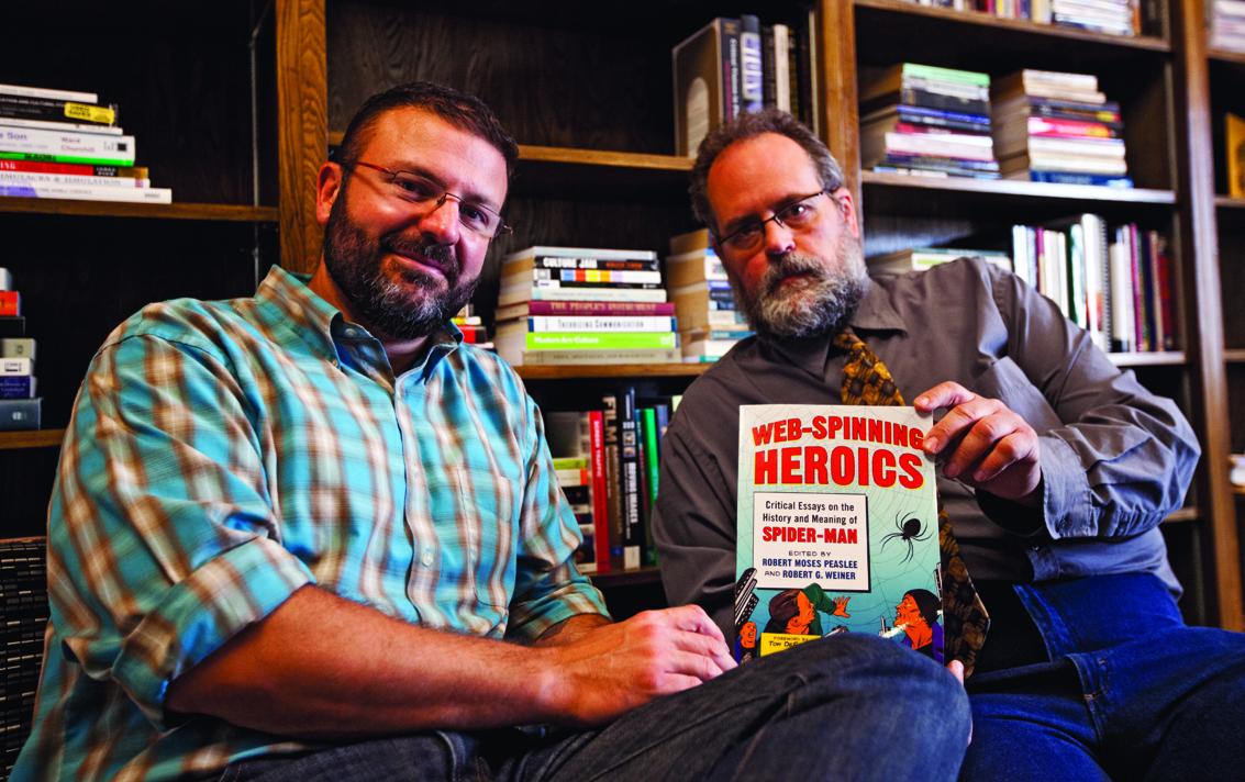INTERVIEW: R M  Peaslee and R G  Weiner Deconstruct Spider