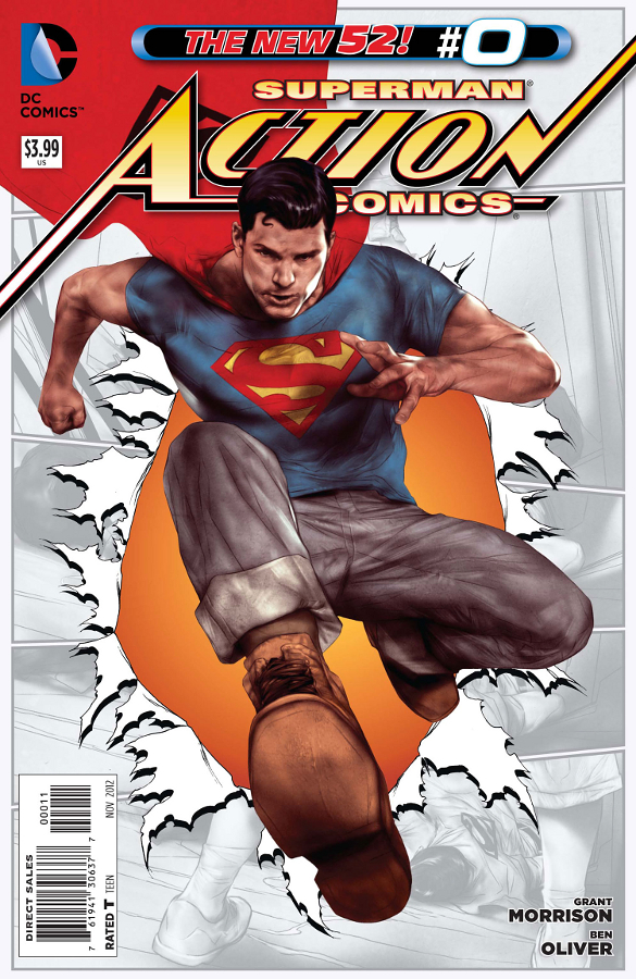 Review: Action Comics, the Grant Morrison Edition - The Beat