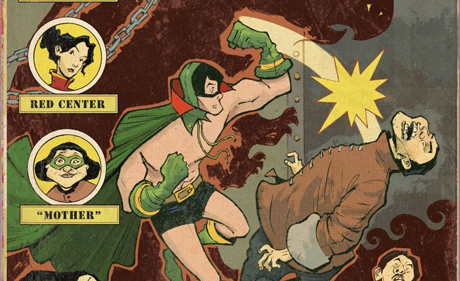 Preview: Sonny Liew's and Gene Luen Yang's retro superhero book