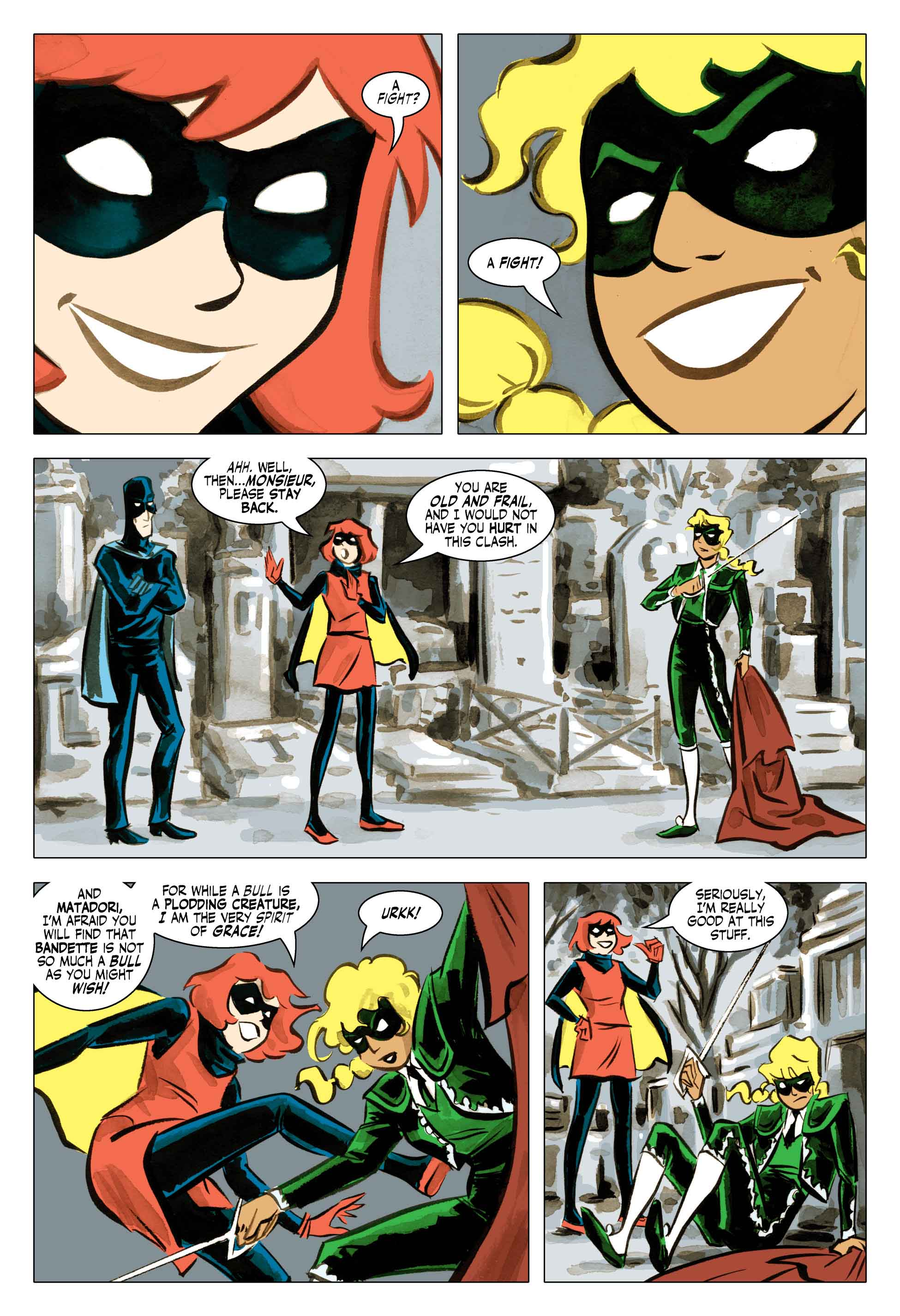 Read Monkeybrain's Bandette #1 for Free - The Beat